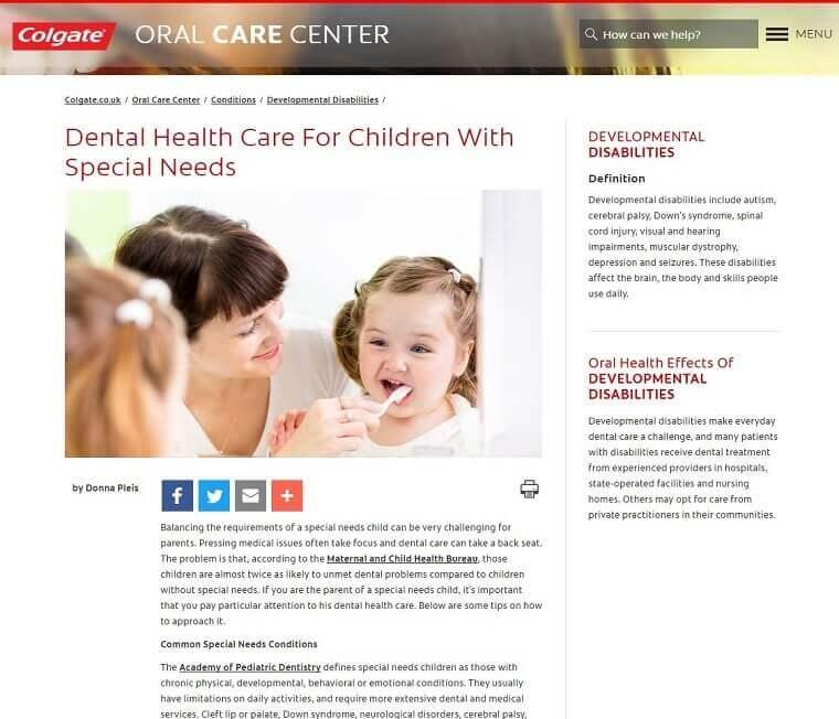 colgate dental health care